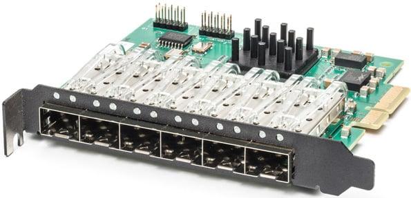 M6SFP - Robust low-cost 1U Gigabit Ethernet test module