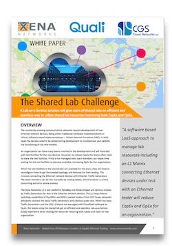 Shared Lab Challenge White Paper