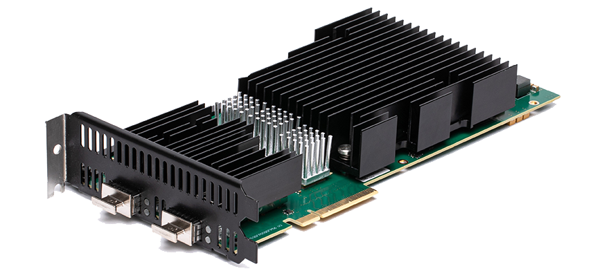 New Xena Networks 5-speed dual-media test module